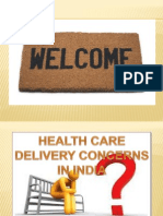 health care delivery concerns in india