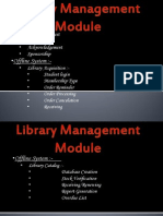 Library Manaement System