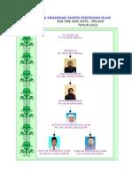 Carta Organisasi Panitia  Pend. islam 2013