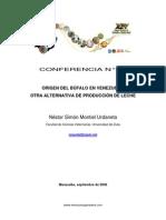 El Bufalo en Venezuela Para Produccion de Leche