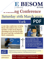 The Besom Training Conference 2013