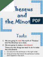 Theseus and the Minotaur Story