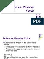 active passive voice