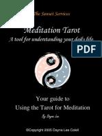 Meditation Tarot Guide