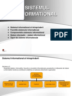 Sistemul informatic