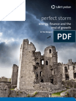 The perfect storm energy, finance and the end of growth