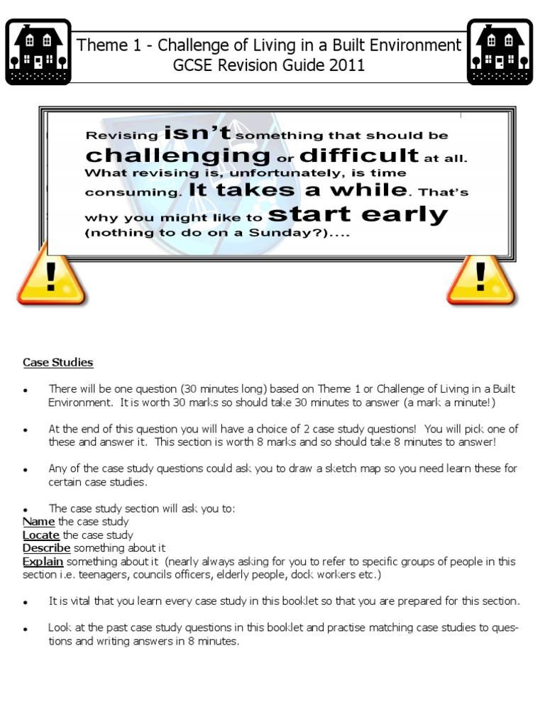 theme case study booklet