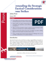 Understanding the Strategic and Tactical Considerations of Drone Strikes
