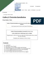 Gallery3_Tutorials_Installation - Gallery Codex