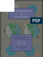 The Divine Measure of Time and Space