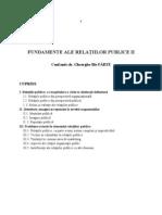 Fundamente Relatii Publice