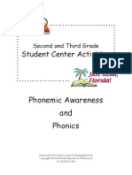 2nd and 3rd Grade Introduction to PA and Phonics