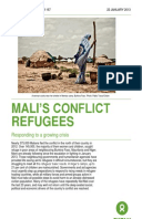 Mali's Conflict Refugees: Responding to a growing crisis