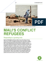 Mali's Conflict Refugees
