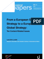 From a European Security  Strategy to a European  Global Strategy: Ten Content-Related Issues