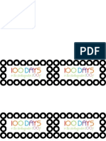 100 Days of School Tag