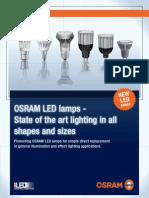 OSRAM LED BROCHURE