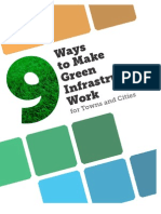 9 Ways to Make Green Infrastructure Work in Cities