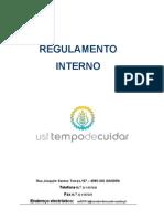 USF Tempo de Cuidar - Regulamento Interno 2012