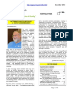 Human Calibration Article in ASQ newsletter 12-2012