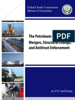 Mergers In Petroleum