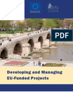 Manual on Developing and Managing EU-Funded Projects