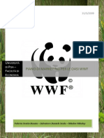 Piano di Marketing per le Oasi  WWF