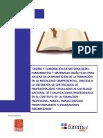metodologías didacticas formación semipresencial CP desempleados