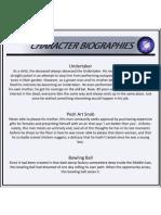 Character Bios