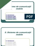 sisteme si retele de comunicatii mobile