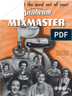 How to Get the Most out of your Sunbeam Mixmaster