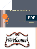 NON-PROJECTED AV AIDS,