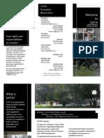 Saville Apartments Tenants Association Brochure