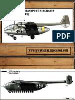German Transport Aircrafts (Luftwaffe)