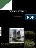 Digipack research