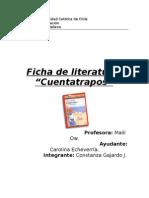 Ficha de literatura