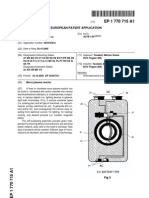 Keshe Foundation Micro Plasma Energy Reactor, European Patent Filing, Patent application number 05447236.0