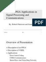 VHDL FPGA Applications