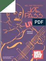 Joe Pass live