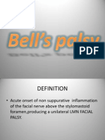 Bell's palsy report