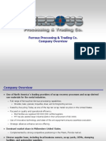 Ferrous Processing & Trading Co. Company Overview