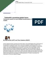 Telehealth's promising glabal future