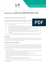 ELLA Climate Resilient Cities