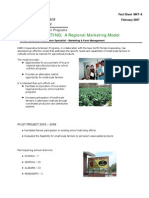 School Marketing- Regional Marketing Model