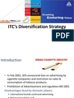 Itc Diversification Case