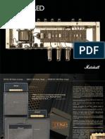 Marshall Handwired Power Amplifier Leaflet