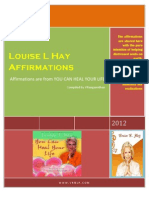 AFFIRMATIONS of LOUISE HAY