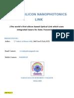 50G silicon nano
