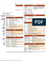 Blueprint css framework version 101 cheat sheet cascading css cheatsheet malvernweather