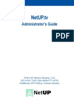 NetUP IPTV Admin Guide New Eng